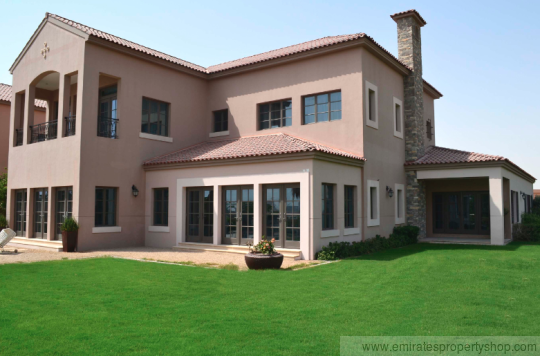 5 bedroom plus study at Jumeirah Golf Estates Fire Course