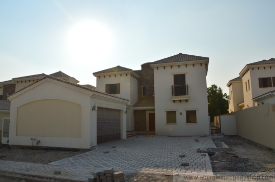 5 or optional 6 bedroom Villa At Lime Tree Valley Jumeirah Golf Estates