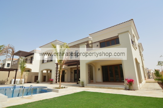 6 bedroom Tarragona villa in Jumeirah Golf Estates for sale