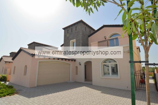 5 bedroom Sonoma style villa in Jumeirah Golf Estates for sale