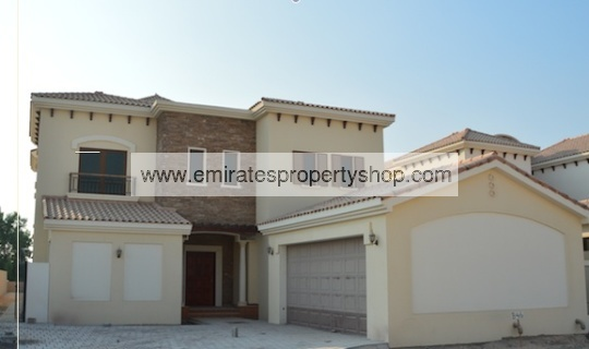 5 bedroom Girona villa in Jumeirah Golf Estates for sale