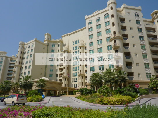 1 bedroom apartment on Palm Jumeirah for sale with sea views