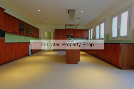 6 bedroom Enzo villa with golf course views to rent in Jumeirah Golf Estates