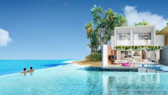 Water Lagoon Villa For Sale on Germany Island in Dubai