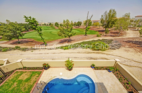 Amazing Price villa with amazing golf course views at Jumeirah Golf Estates