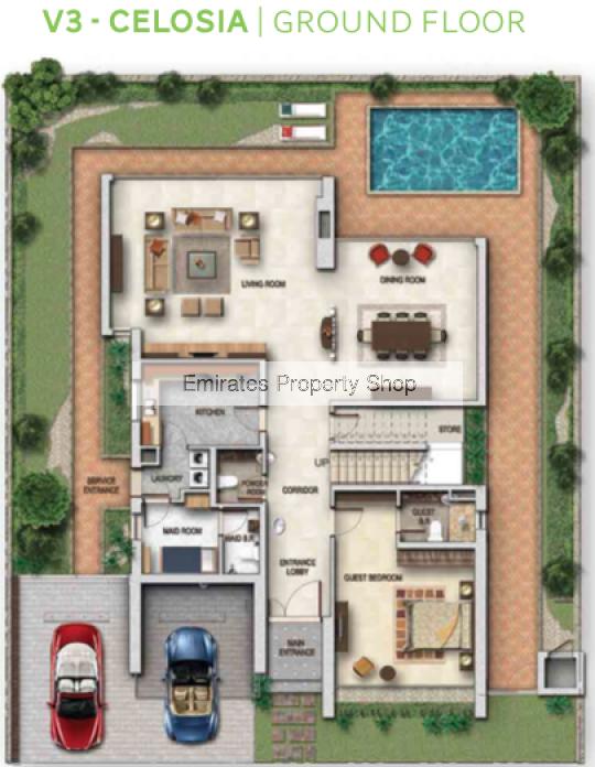 6 Bedroom Detached Villa In Akoya Oxygen For Sale